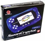 Bandai WonderSwan Crystal System Clear Blue