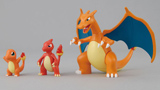 Pokemon Evolution Charmander PVC Figures 3 Pack