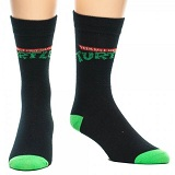 Teenage Mutant Ninja Turtles TMNT Retro Logo Socks