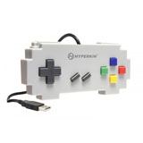 PC/MAC Pixel Art Gray USB Controller