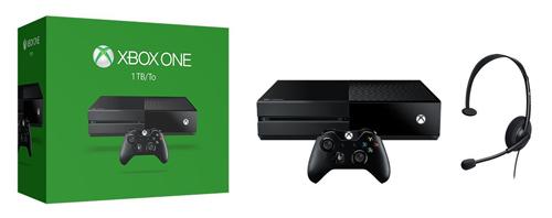 Microsoft Xbox One System 1TB (Black)