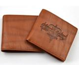 Kingdom Hearts II Logo Brown Wallet