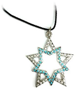 Black Rock Shooter Double-Star Necklace