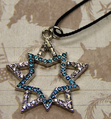 Black Rock Shooter Star Necklace