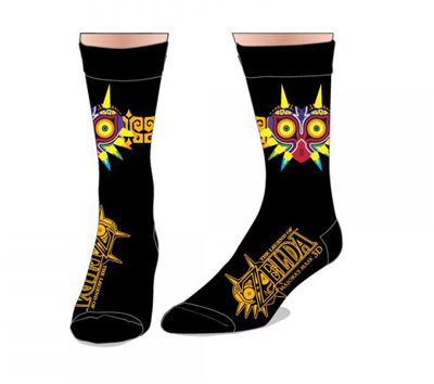 Zelda Majoras Mask Crew Socks