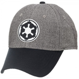 Star Wars Imperial Logo Gray/Black Flex Cap
