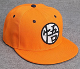 Dragon Ball Z Kame Symbol Orange Snapback