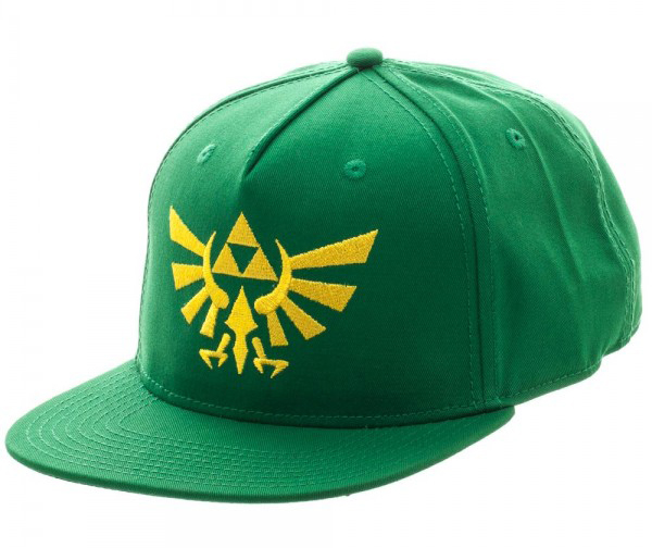 Legend of Zelda Hylian Logo Green Snapback