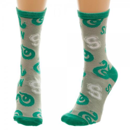 Harry Potter Slytherin Jrs Crew Socks