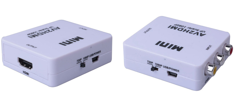 AV to HDMI 1080p Mini Converter