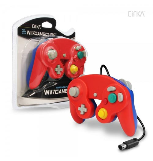 GameCube Cirka Controller Red / Blue