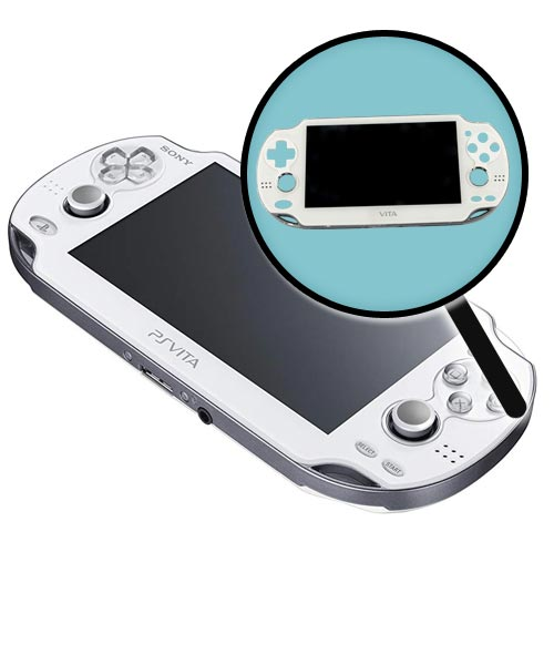 PS Vita Model 1000 Repairs: LCD Screen Replacement White Service