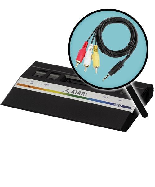 Atari 2600 Jr. AV Composite Video Mod Installation Service