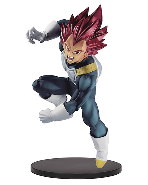 Dragon Ball Super Blood of Saiyans Super Saiyan God Vegeta Special VII Figure