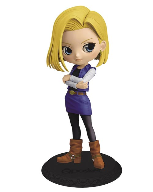Dragon Ball Z: Android 18 Q-Posket Figure