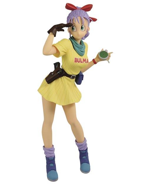 Dragon Ball: Glitter & Glamour Bulma III Figure Yellow Outfit
