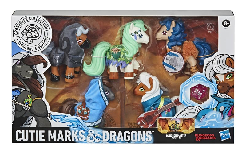 MLP Cutie Marks & Dragons Collection box