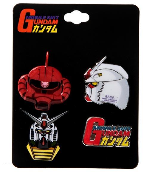 Mobile Suit Gundam Lapel Pin Set