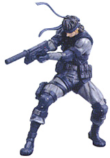 Metal Gear Solid 2 Series 1 Solid Snake Mini Figure