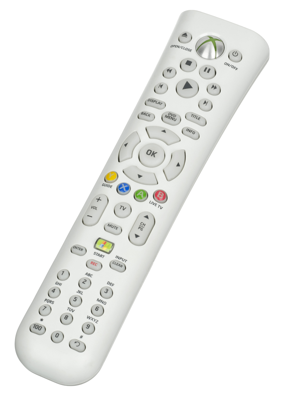 Xbox 360 Media Remote by Microsoft White