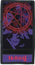 Hellsing Pentagram Silk Screen Rip Wallet