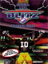 NFL Blitz Official Strategy Guide Book