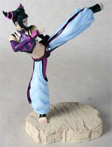 Street Fighter IV Juri Statue