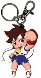 Super Puzzle Fighter II Turbo Sakura Keychain