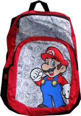 Nintendo Red Mario Collage Backpack