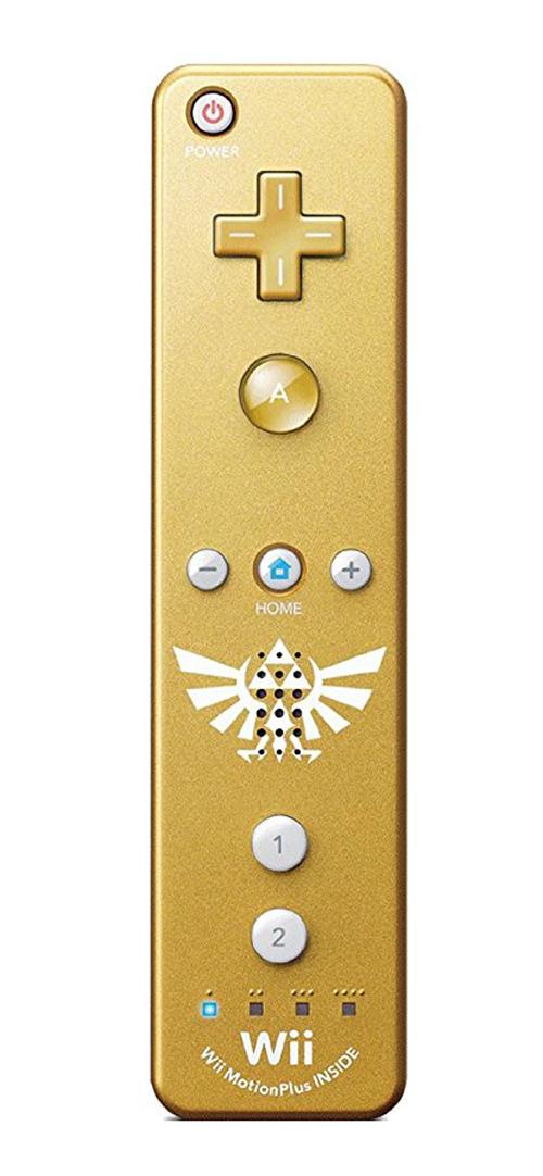 Nintendo Wii Remote Plus Zelda Gold by Nintendo