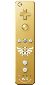 Nintendo Wii Remote Plus Zelda Gold by Nintendo