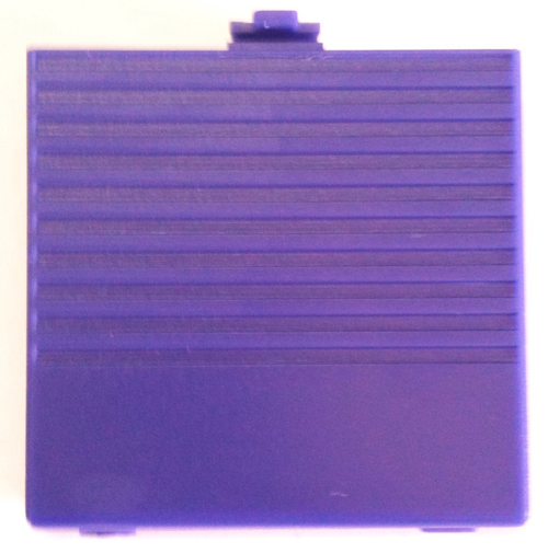 Game Boy Battery Compartment Cover Purple