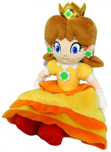 Super Mario Bros Daisy 8 Inch Plush