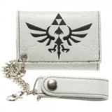 Legend of Zelda Skyward Sword Triforce White Chain Wallet