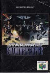 Star Wars: Shadows of the Empire (Instruction Manual)