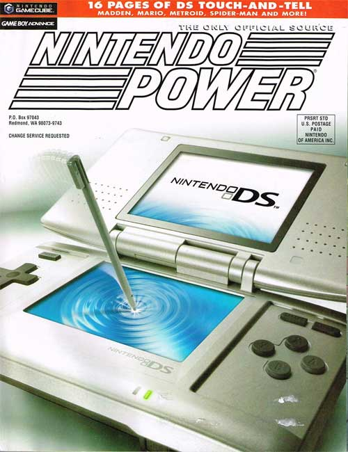 Nintendo Power Volume 187 Nintendo DS