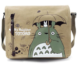 My Neighbor Totoro Tan Canvas Messenger Bag