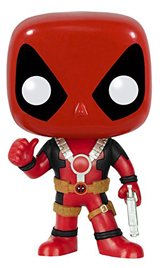 Pop! Marvel Deadpool Thumbs Up Vinyl Figure
