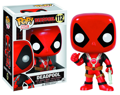 Pop! Marvel Deadpool Thumbs Up 3.75 Inch Vinyl Figure