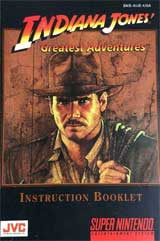 Indiana Jones: Greatest Adventures (Instruction Manual)