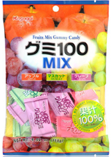 Kasugai Gummy Candy Fruit Mix 3.59oz