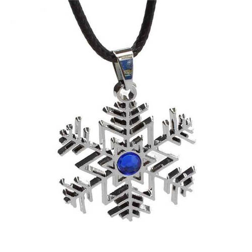 Hatsune Miku Winter Snowflake Necklace