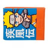 Naruto Shippuden Naruto Uzamaki Pixelated Bi-Fold Wallet