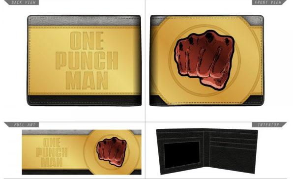 One Punch Man Bi Fold Wallet