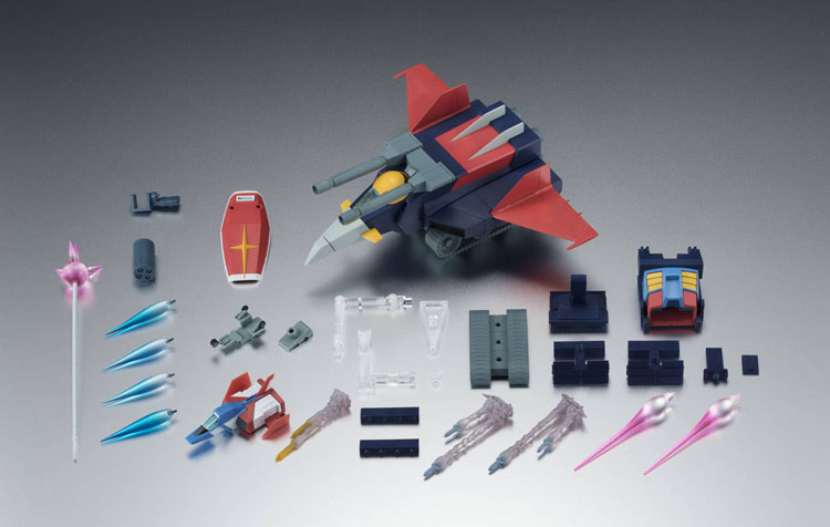 What the Gundam Robot Spirits MS-G Fighter Anime Figure includes
