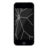 iPod Touch 4 Glass & LCD Replacement Black