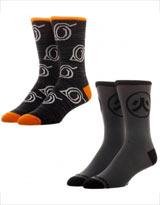 Naruto Shippuden Men's Crew Socks 2 Pack