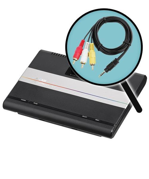 Atari 7800 AV Composite Video Mod Installation Service