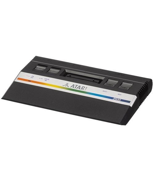 Atari 2600 Jr System with 6 Games - Refurbished