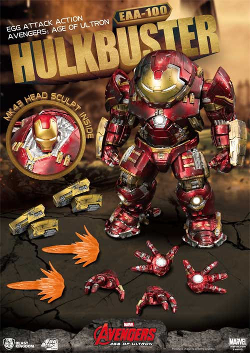 Avengers Age of Ultron EAA Hulkbuster AF all items